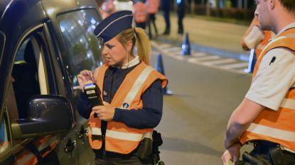 Vijf chauffeurs onder invloed bij alcoholcontrole