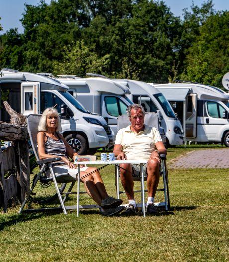 Met camper naar Holten geen enkel probleem, of toch?