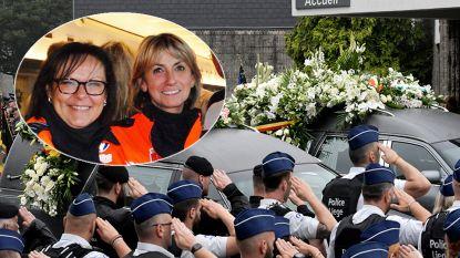Emotioneel afscheid van Soraya en Lucille, de doodgeschoten agentes uit Luik