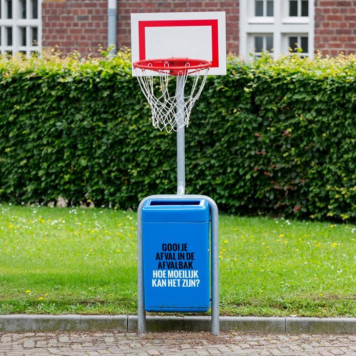 'Afvalbak' op het Willem I College