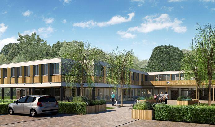 De paviljoens De Beken van de instelling Sint Annaklooster op landgoed Eikenburg in Eindhoven krijgen een houten uitstraling. Het ontwerp is van architectenbureau De Loods uit Aarle-Rixtel. Hier worden straks het kantoor, logeerhuis en hospice In Via en hospice De Regenboog gevestigd.