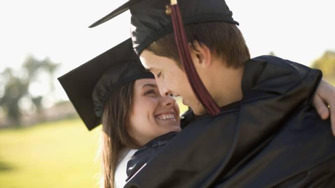 Eén op drie trouwt met liefje van op universiteit