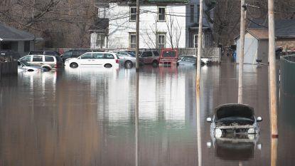 Duizenden Amerikanen op de vlucht voor overstromingen na 'bomcyloon'