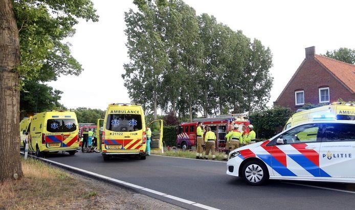 Ongeval in Schijndel.