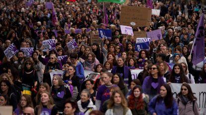Duizenden Spanjaarden betogen tegen geweld tegen vrouwen