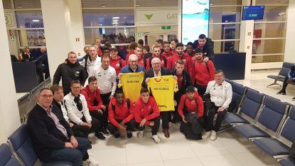 KVO op stage vertrokken vanop internationale luchthaven Oostende