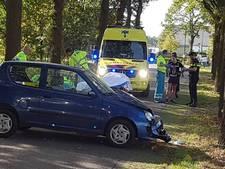 Auto botst tegen een boom in De Mortel; een gewonde