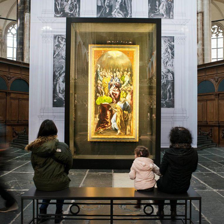 De Nieuwe Kerk. 'Ik heb er onlangs als klassieke muziek-dj gedraaid' Beeld Charlotte Odijk