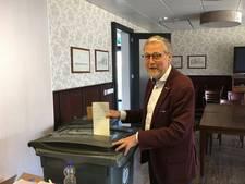 Oud-burgemeester Van de Vondervoort krijgt 363 voorkeursstemmen in Boekel
