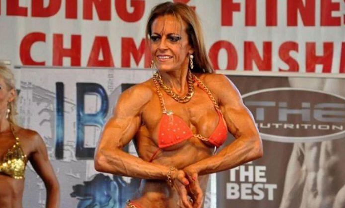 Alejandra Rubio was drie keer wereldkampioen Fitness en Bodybuilding.