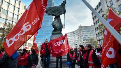 Onderwijsvakbonden verwachten woensdag 5.000 tot 10.000 leerkrachten op de betoging