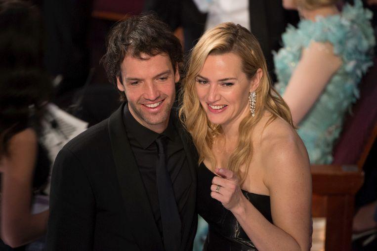 Kate Winslet en echtgenoot Ned Rocknroll