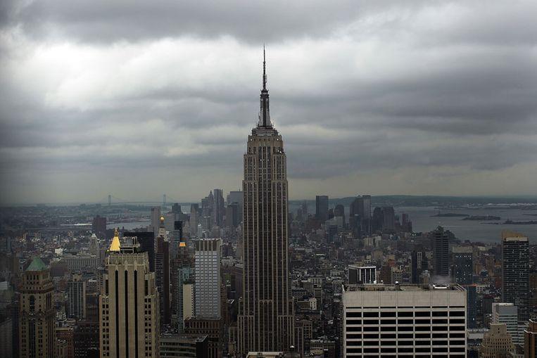 Het Empire State Building in New York (AFP) Beeld