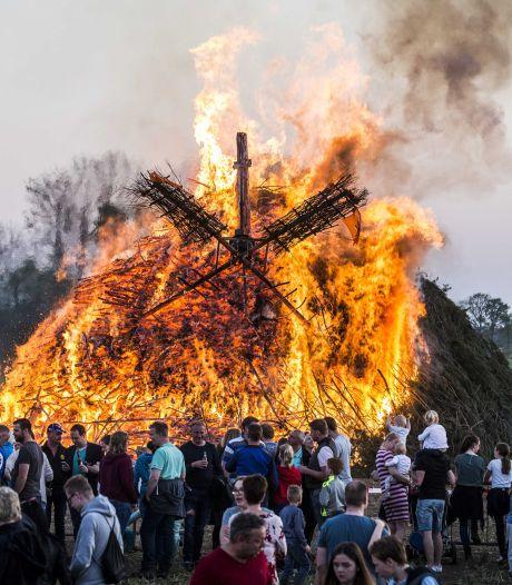 Streep door grote paasvurenwedstrijd in Holten dit jaar: vergunning had al aangevraagd moeten zijn