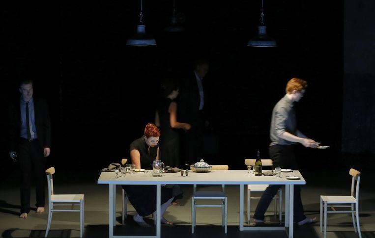 Een opera van Bach door Katie Mitchell. Beeld  Patrick Berger/ArtComArt