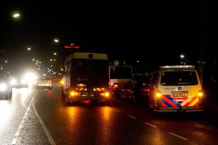 De Nijmeegse wijk Neerbosch Oost beleefde een onrustige jaarwisseling.