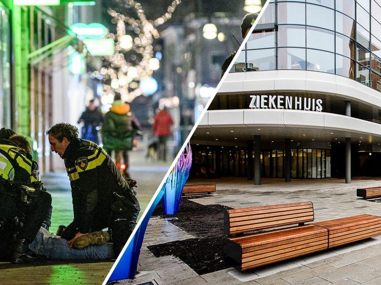 Ziekenhuis Enschede belaagd door relschoppers