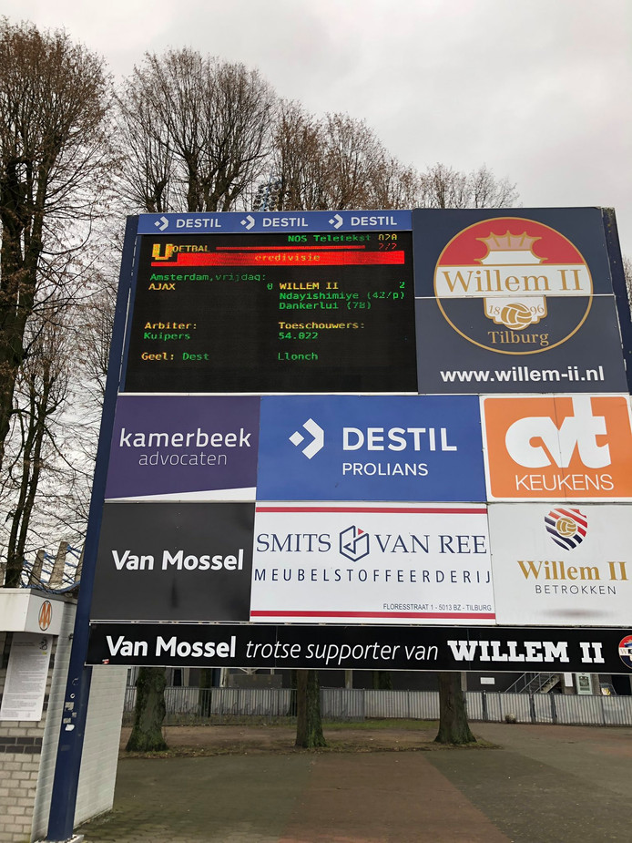 De doelpuntenmakers van Ajax - Willem II