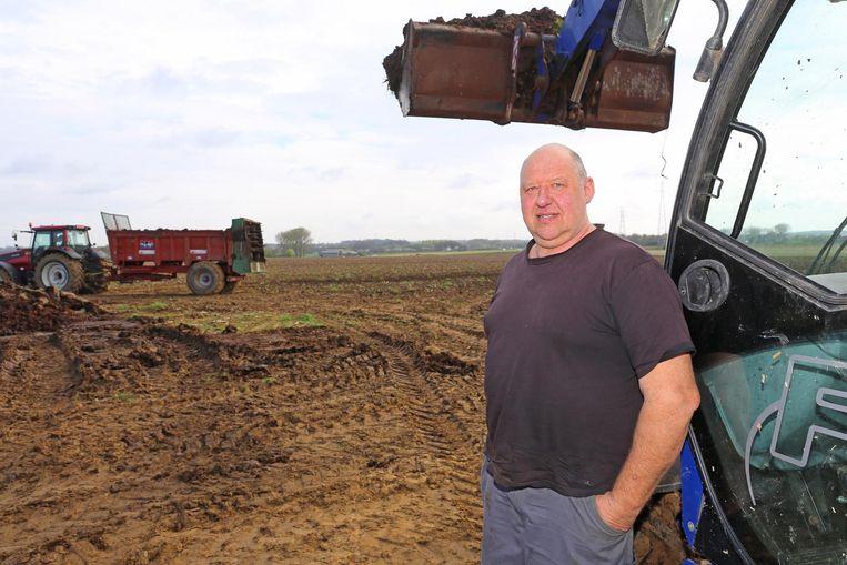 Landbouwer Rudy Bayens geeft het dossier van zijn biogasinstallatie nog niet op.