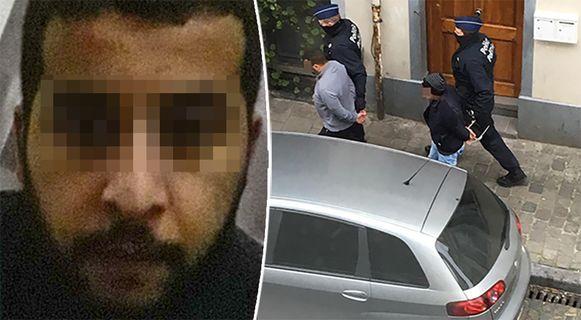 Er werden twee mannen opgepakt na een huiszoeking bij dader Issam T.