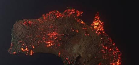 Ne vous méprenez pas sur cette image de l'Australie en feu