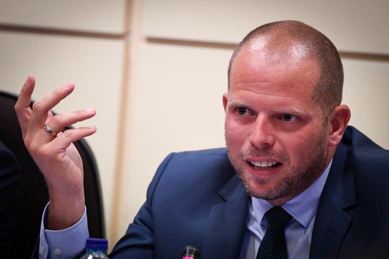 Staatssecretaris voor Asiel en Migratie Theo Francken (N-VA).