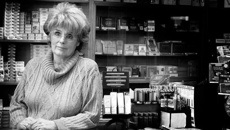 An Hartman in haar winkel. Beeld Geert Snoeijer