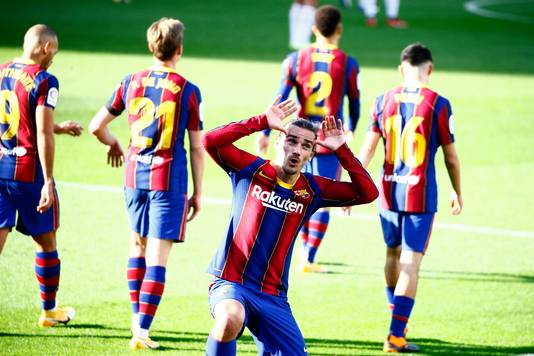 Antoine Griezmann maakte fraaie goals in zijn laatste drie wedstrijden.