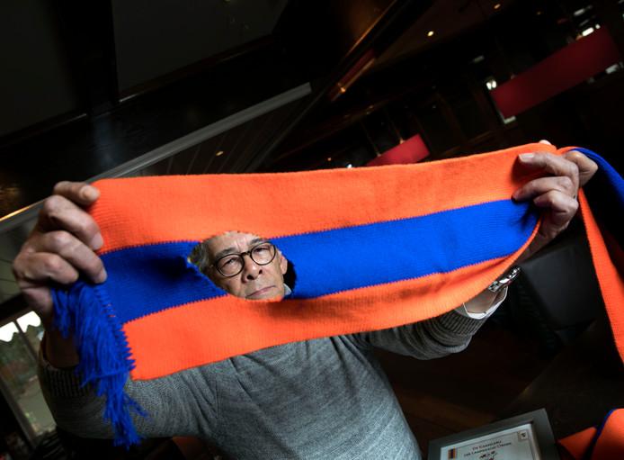 Wally Rijks uit Eindhoven neemt boos afscheid van de Lampegatse carnavalsvereniuging