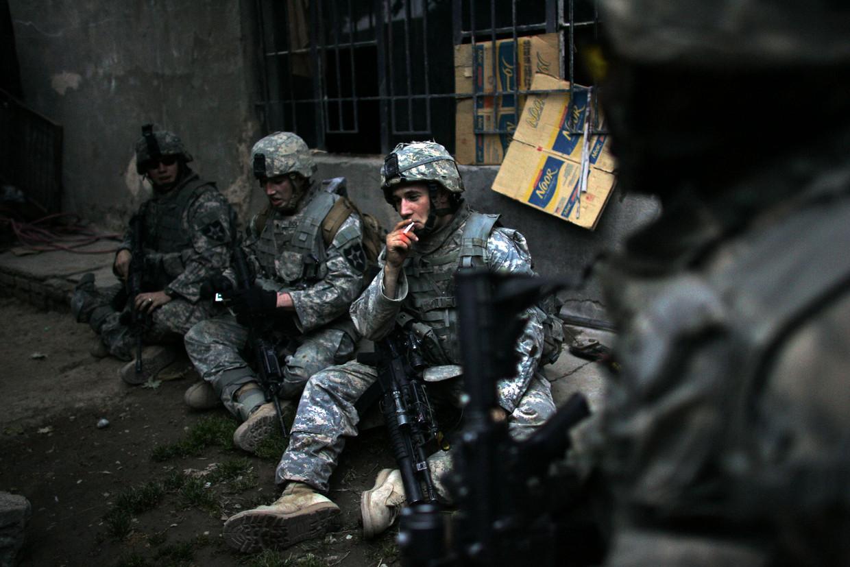 De Verenigde Staten zijn sinds 2003 op grote schaal militair actief in Irak, aanvankelijk om dictator Saddam Hoessein omver te werpen.