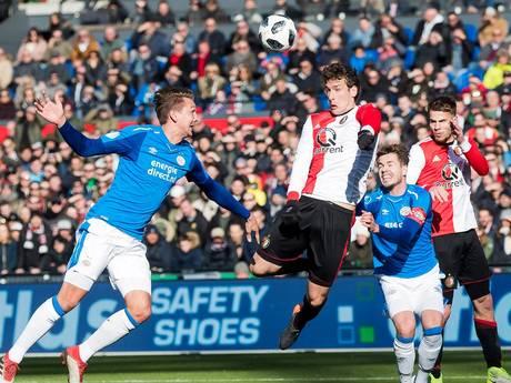 LIVE: Feyenoord zoekt naar nieuwe aansluitingstreffer, tijd begint te dringen