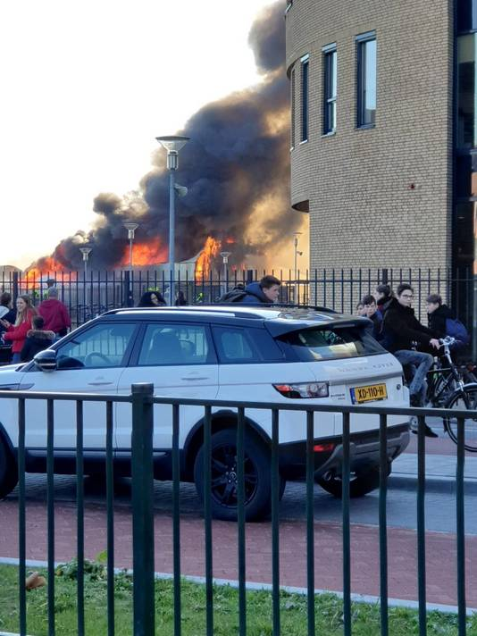 Zeer grote brand Zaltbommel