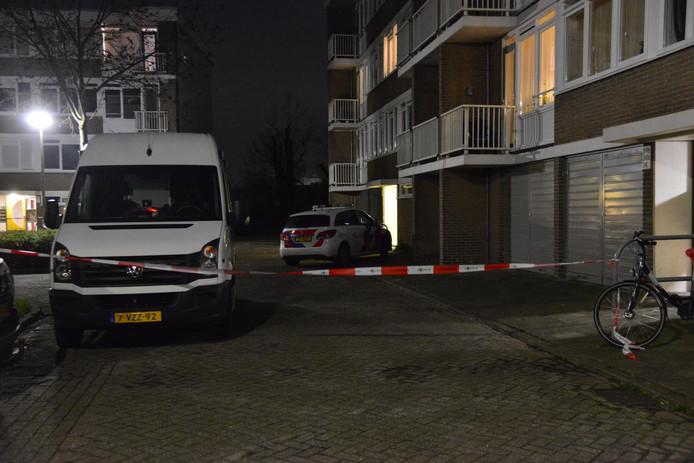 Dode gevonden in woning aan de Jan Vermeerlaan in Roosendaal.