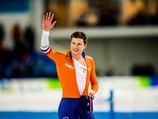 Sven Kramer houdt schaats-Oscar nu zelf