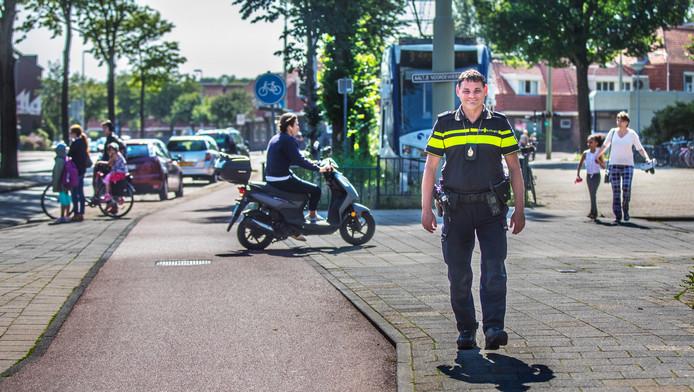 Geert de Jong, politieagent van vakbond ANPV.