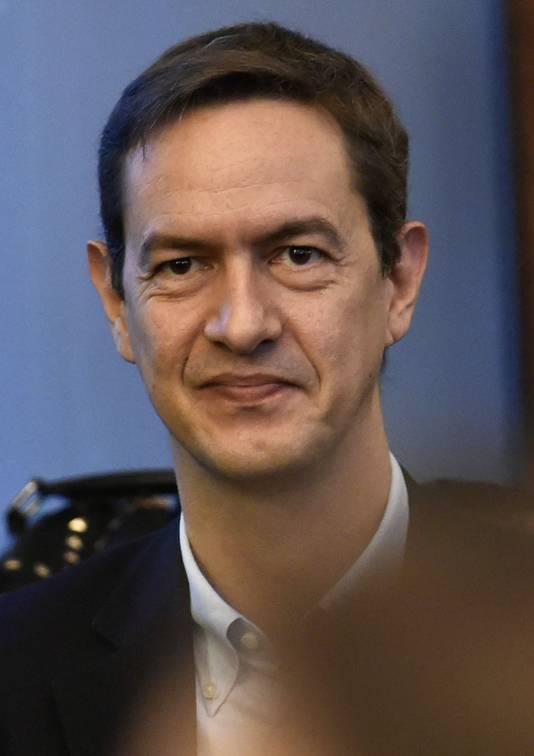 Eric Roux, dirigeant de l'Eglise en Belgique.