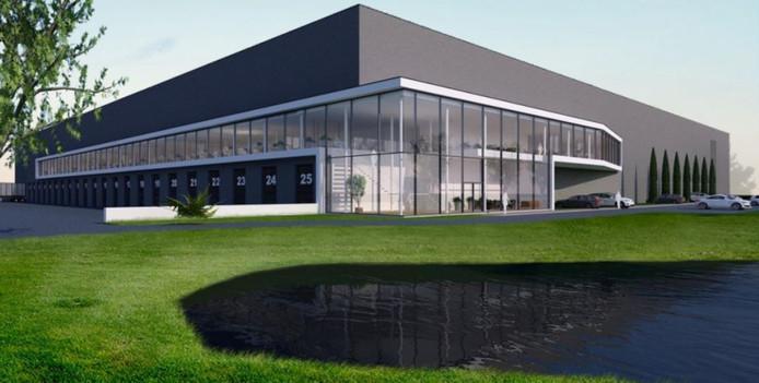 Zo komt het nieuwe distributiecentrum van De Bommel eruit te zien.