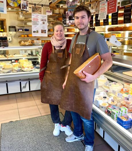 Winkel van 'Klaas Kaas' in de Dapperstraat gered