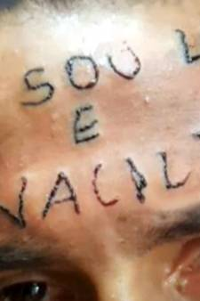 Brazilianen straffen tiener met tatoeage op zijn voorhoofd