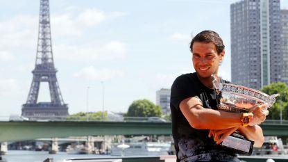 Forse opslag voor eindlaureaten Roland Garros