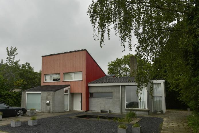 Het huis van Jeannette Zwijnenburg.