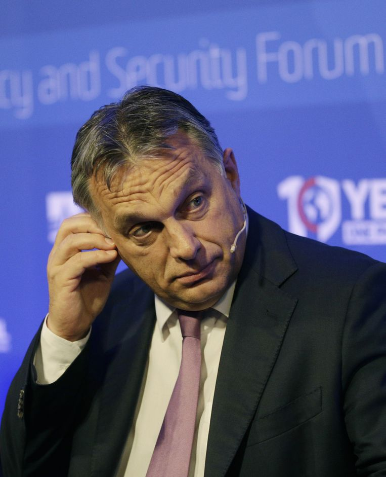 De Hongaarse premier Viktor Orban. Beeld ap