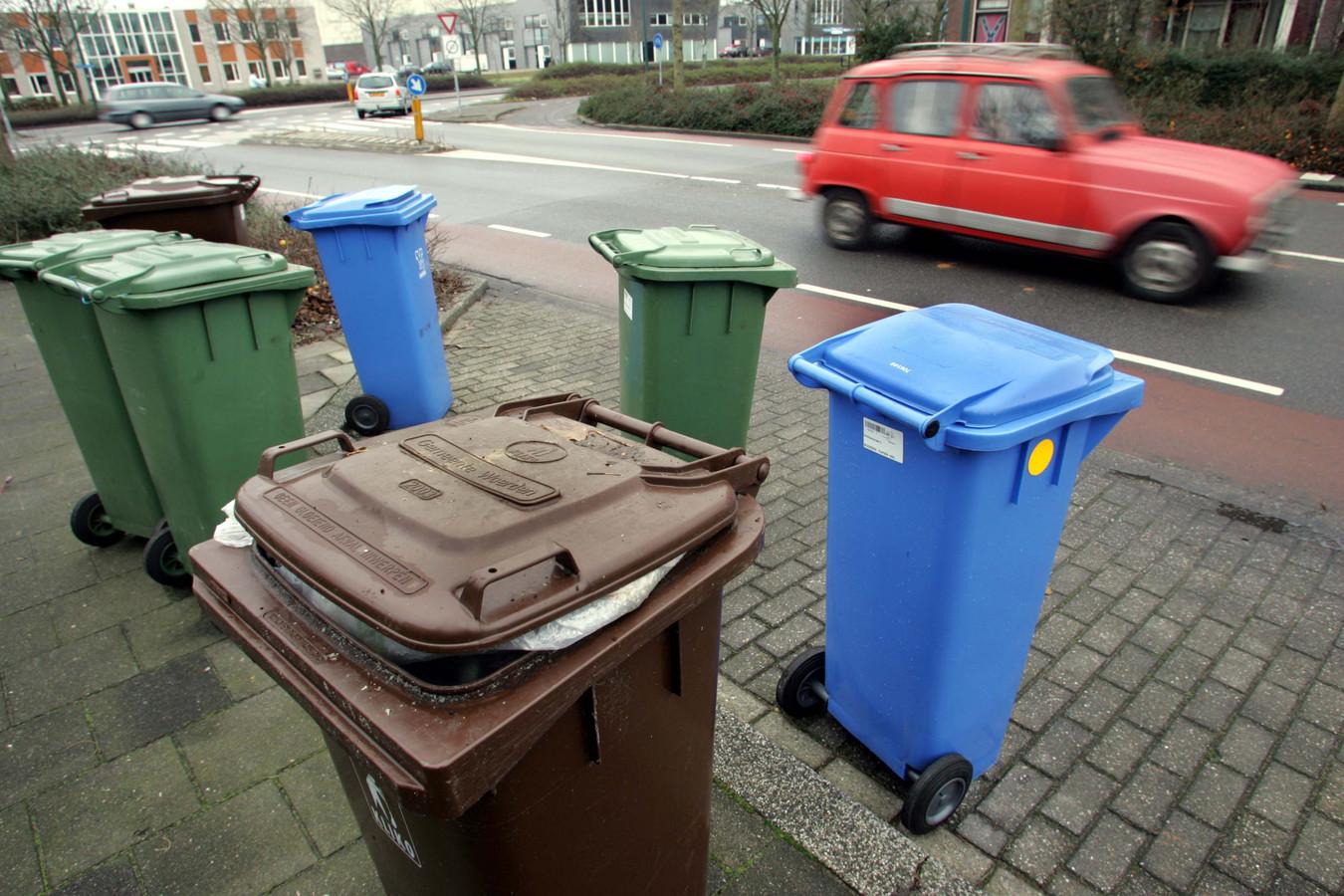 Wie zijn container met restafval minder vaak aanbiedt, krijgt korting op de afvalstoffenheffing.