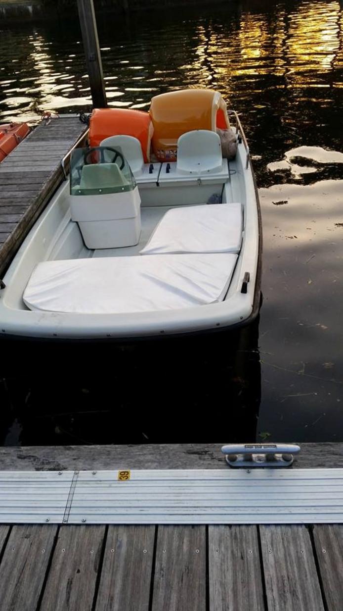 Het bootje dat is gestolen