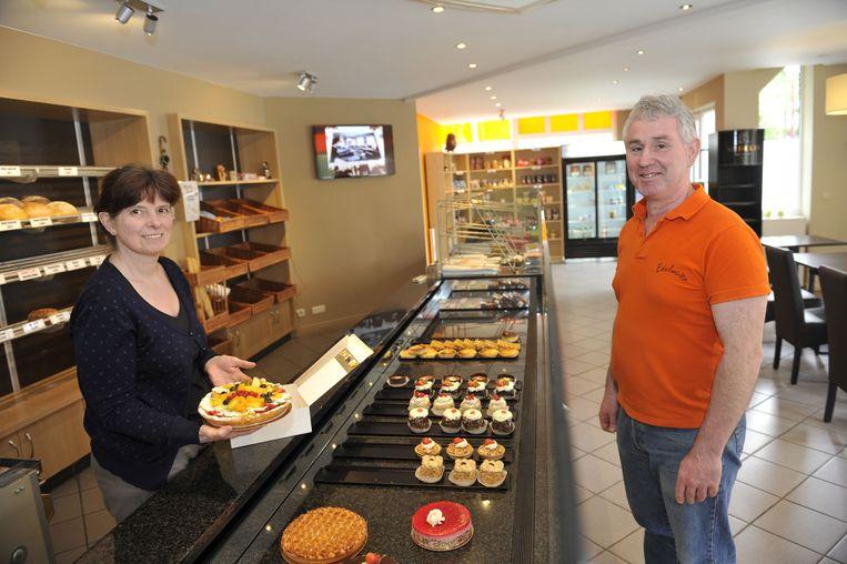 Gerda en Alex, van bakkerij Edelweiss.
