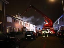 Zolderbrand ontstond in hennepkwekerij: huis in Tilburg onbewoonbaar