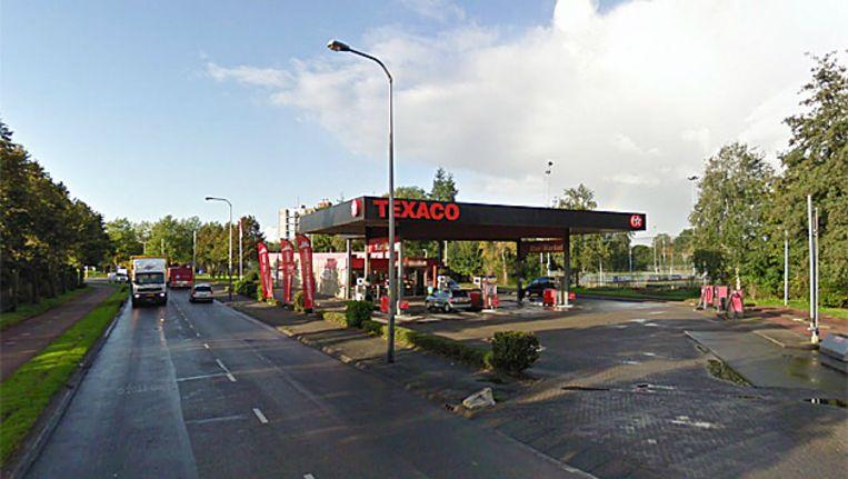 Tankstation aan de Dreef. Beeld