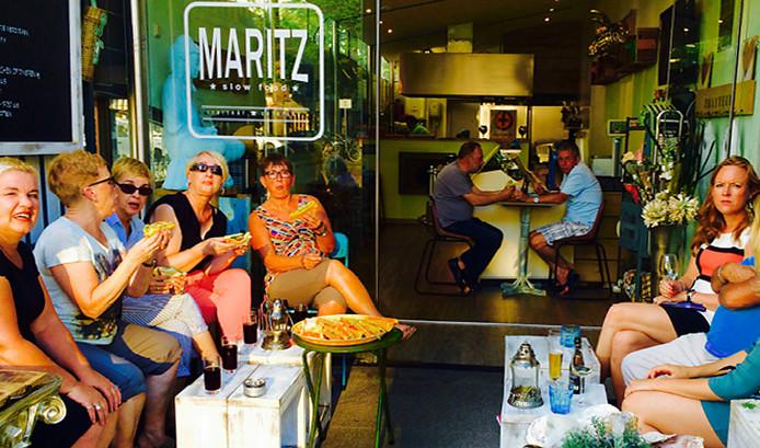 Lunchen bij Maritz, op website www.maritzslowfood.nl