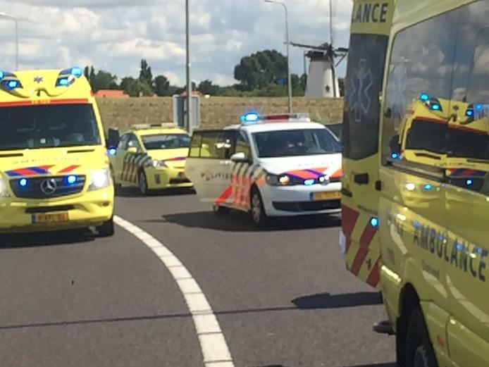 Ongeval bij Nieuw- en Sint Joosland.