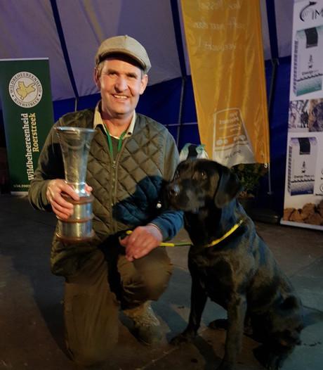 Viervoeter James uit Hulshorst is de beste jachthond van Nederland